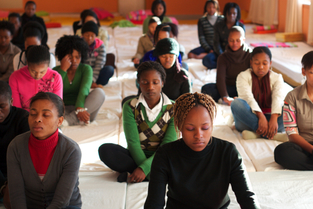Students In South Africa Practice Transcendental Meditation